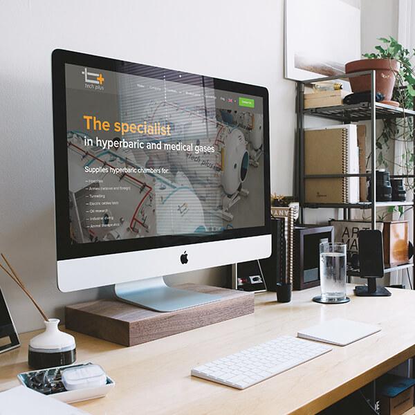 Tech Plus website